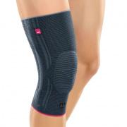 Бандаж на коленный сустав GENUMEDI с силиконовым пателлярным кольцом на широкое бедро арт.615